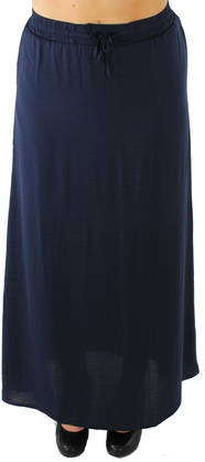 Vila Maxi skirt Pocka dark blue - Skirts - 115818 - 1