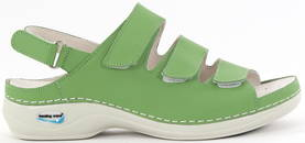 Nursing Care Machine washable sandals WG1821 light green - Work shoes - 118908 - 1