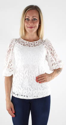 Vero Moda Lace Shirt Majse lace 3/4 - Party tops and shirts - 119048 - 1