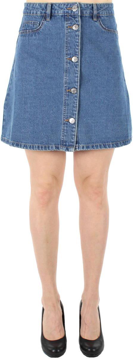 8b7bb64535b077 Noisy May Skirt Sunny short skater, Blue - Stilettoshop.eu webstore