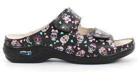 Nursing Care Machine Washable Work Shoes Mexican Skull - Work shoes - 122669 - 1