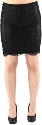 Only Skirt Lea Faux, Black - Skirts - 119749 - 1