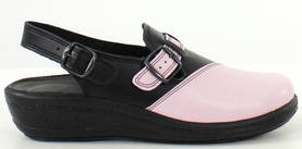 Promena Professional shoes 8011 pink/black - Work shoes - 117689 - 1