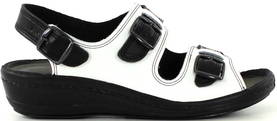 Promena Professional shoes 8016 white/black - Work shoes - 114309 - 1