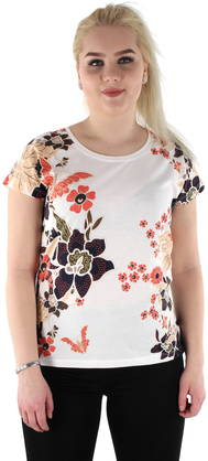 Vero Moda T-shirt Bella adventure flower - T-Shirts - 118339 - 1