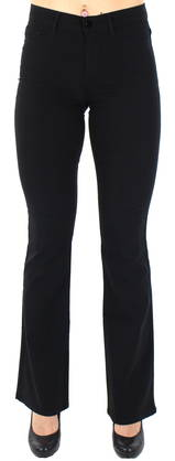Pieces Pants Skin Flared mw, Black - Trousers - 122309 - 1